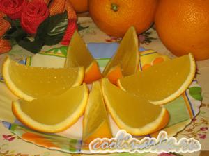 Желе «Апельсиновые дольки»