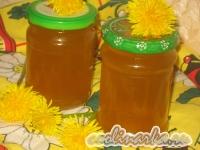 Варенье (мед) из одуванчиков с апельсином и лимоном